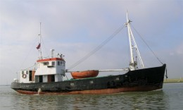 23m Coastiing barge