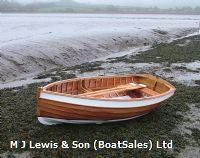 New built clinker wooden rowing dinghies, Hand built, Traditional 9ft, 10ft, 12ft wooden clinker rowing dinghies .