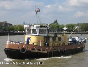 17m Pilots' Tender, Steel motor vessel, Commercial