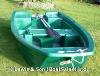 2.5m New dinghy tender, rowing, work boat, Sturdy 250 .