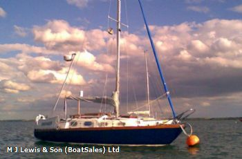 Thompson 27 Sloop, GRP fin keeled
