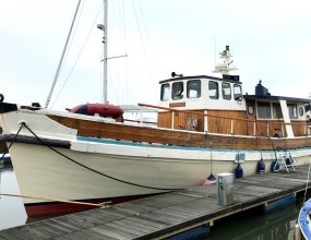 17m ex pilot boat, Tyrrell  Son of Arklow, Gardner engine