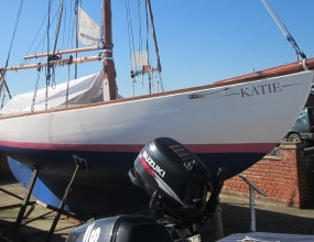30ft Gaff cutter GRP, open boat, Baltic One Design