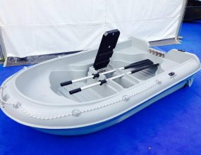 New build Dinghy, Neptune 250 with integral wheels, rowing, fishing, tender