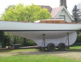32ft Classic G.U.Laws Yacht, Teak Gaff Cutter 1910