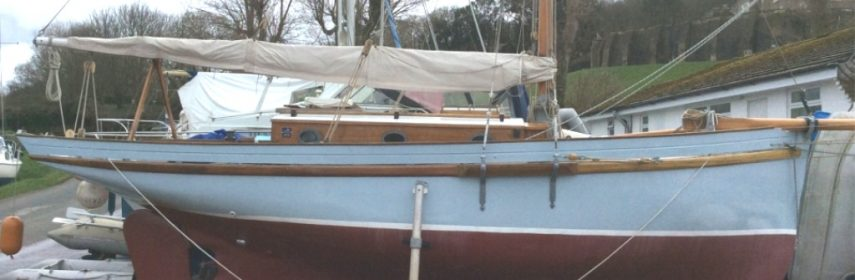 Tyrell & Young GRP Smack Yacht 1990 29ft Gaff Cutter