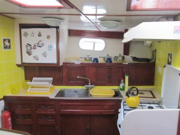 Galley stbd through frwd