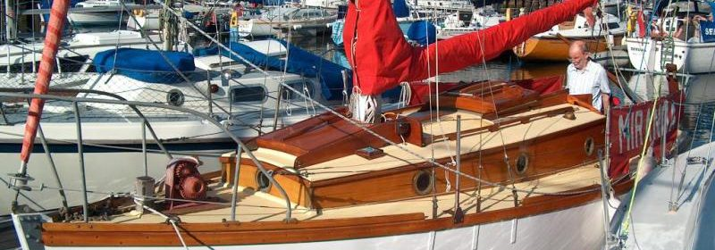 22ft Johnson & Jago Bermudan Sloop.