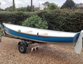 15ft Rowing Skiff New build GRP 1 or 2 person