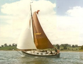 25ft Gaff Cutter, Colne Marine Ltd, 1960