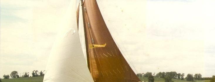 25ft Gaff Cutter, Colne Marine Ltd, 1960