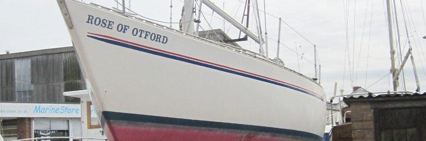 Sadler 32 ft GRP Shallow Fin Bermudan Sloop, 1986