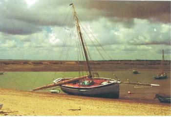 Mary ashore for scrubbing 2007