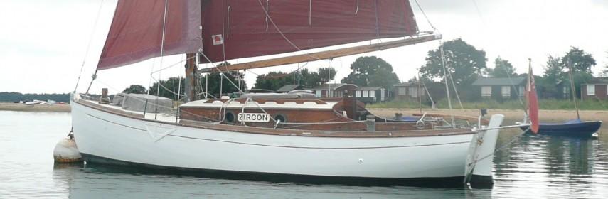Z4 tonner Bermudan Sloop, Harrison Butler