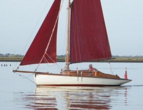 23ft Gaff cutter Rivers Class by Crossfields of Arnsides