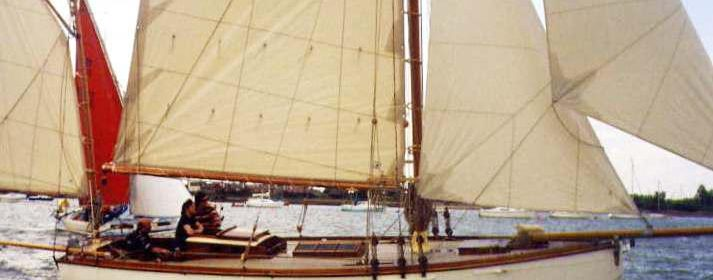 Falmouth Quay Punt 27ft Gaff Yawl