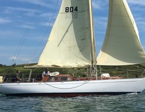 42ft Teak Bermudan Sloop, Laurent Giles,1962