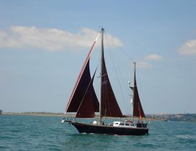 Endurance 35 Ketch, ferro cement