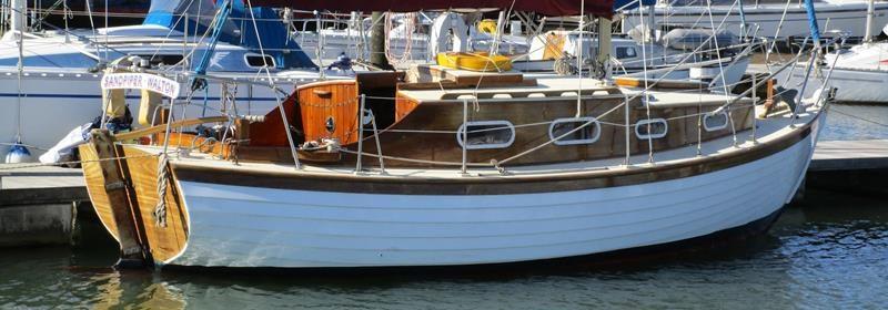 Finesse 24, centreboard Bermudan sloop