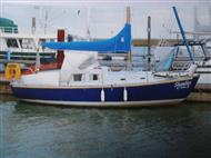 Trident 24 – GRP Lifting Keel with trailer