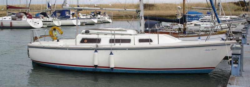 Jaguar 25 – Twin Keel GRP sloop