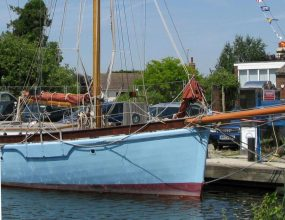 11.25m Gaff Ketch,Holts design and build,1977