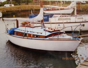 23ft Cheverton Caravelle , Bermudian Sloop