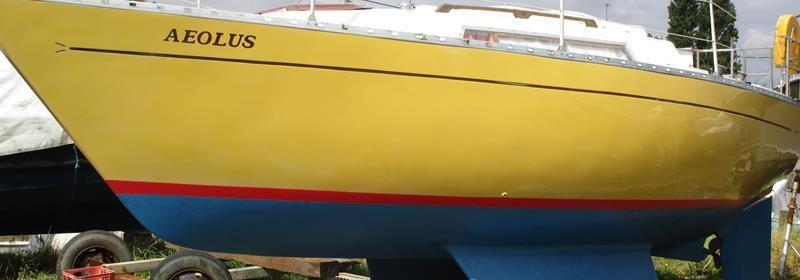 Cobra 750 26ft GRP Bilge Keel Bermudan Sloop