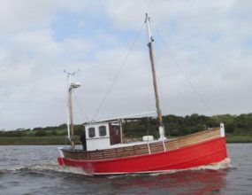 30ft MFV ex Herring Skiff converted.