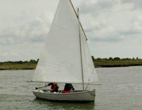 12ft Clinker Barge Boat, sailing dinghy