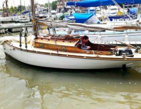 23ft Victorian Gentleman's Pleasure Gaff Yacht
