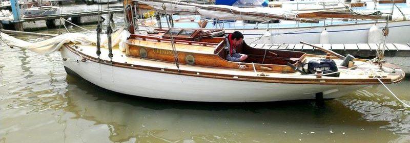 23ft Victorian gaff yacht