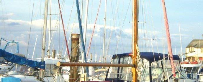 Laurent Giles 29ft Normandy class sloop