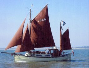 35ft ex Scottish Fifie, converted MFV with ketch rig