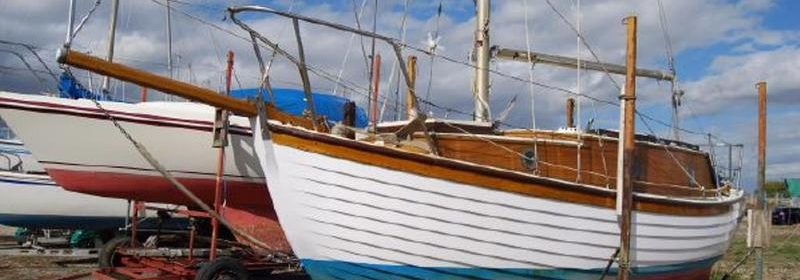 21ft Finesse Mk 2, clinker Bermudan cutter