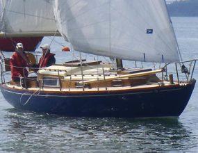 Holman 26, Wooden Bermudan Sloop, Tucker Brown Built