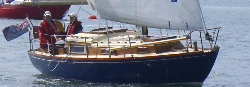 Holman 26, Wooden Bermudan Sloop, Tucker Brown Built