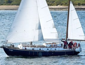 30ft Waterwitch mkII, barge yacht shallow draft, Maurice Griffiths