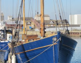 44ft ex Sailing Smack, 1883. Gaff Yawl Pleasure Yatching
