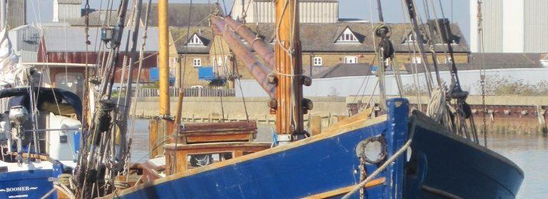 44ft ex Sailing Smack, 1883. Gaff Yawl REDUCED