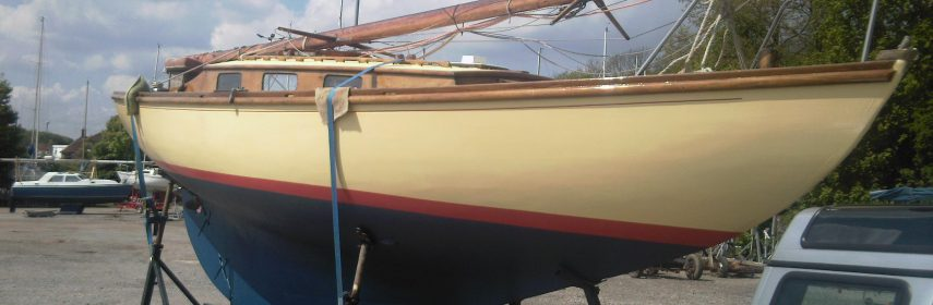 Folkboat 1961 with trailer, Nordic Classic carvel