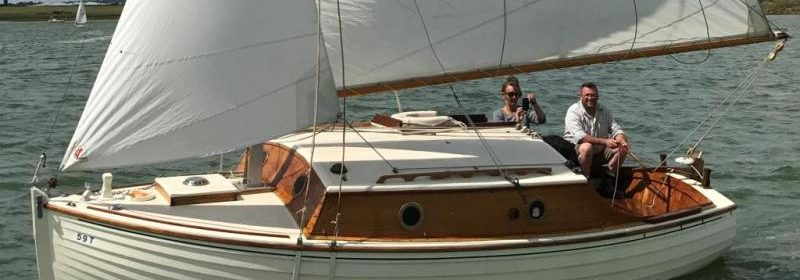22ft Sloop, Dauntless, Gunter rigged 1959