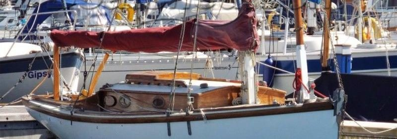 23ft Classic Reg Freeman design, Gaff Cutter 1986 with road trailer