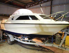Shetland Four Family Cruiser with trailer