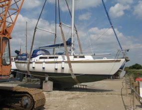 Duelist 32ft Lifting Keel, GRP Sloop