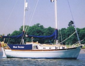 28ft Peter Duck, Wooden Bermudan Ketch