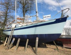 "Laurent Giles 28ft ""Peter Duck"" design, Bermudan Ketch"