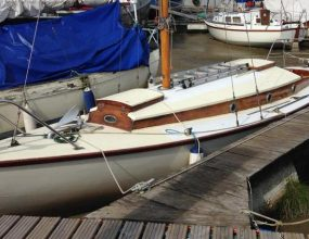 26ft Folkboat by Parhams Carvel Bermudian Sloop