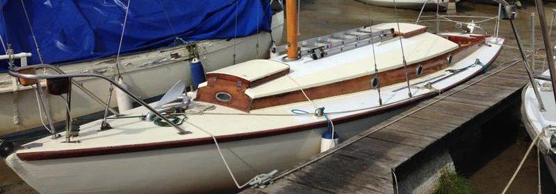 26ft Folkboat by Parhams Carvel Bermudian Sloop