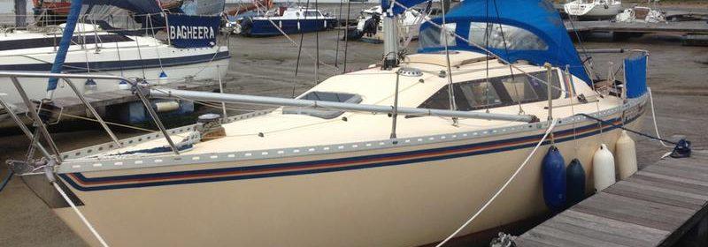 24ft GRP drop keel Feeling 720, Kirie